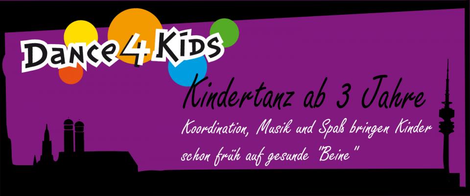 Kindertanz ab 3 Jahren in München